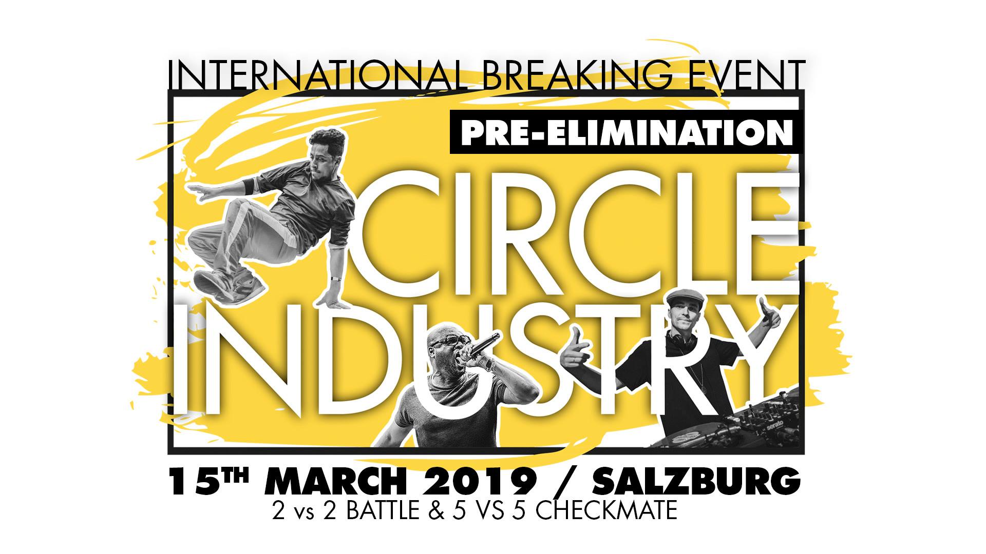 Circle Industry Pre-Elimination on March 15 2019