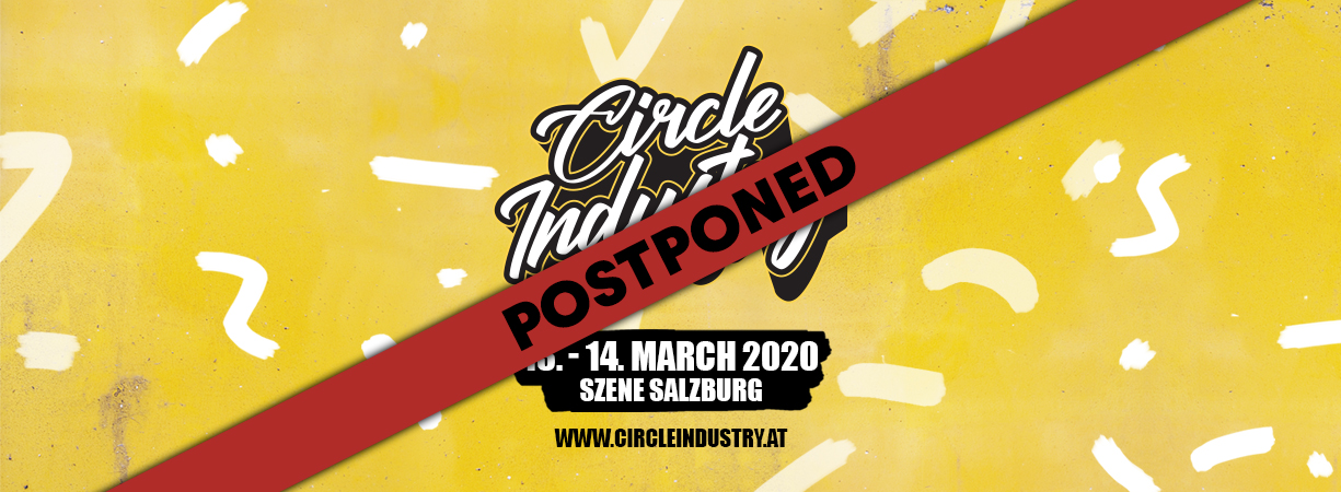 Circle Industry 2020 is postponed - new date coming soon